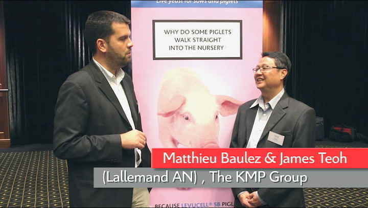 Matthieu Baulez (Lallemand) and James Teoh (KMP Group)