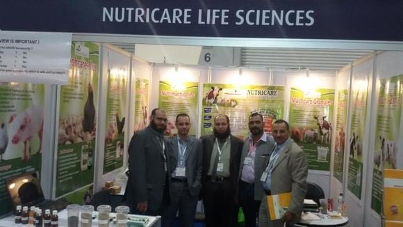 Our stall in VIV Asia - VIV Asia