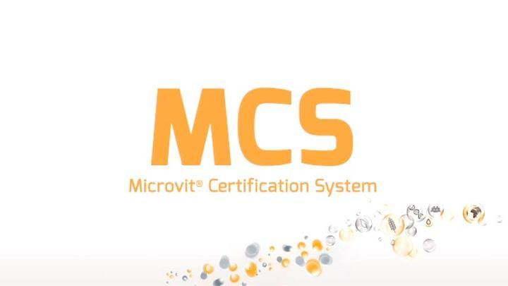 Microvit® vitaminas puras para alimento balanceado.