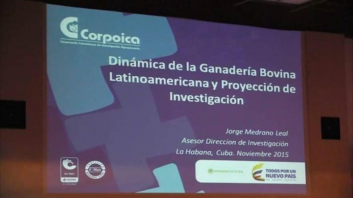 Din�mica de la Ganader�a Bovina Latinoamericana y proyecci�n de Investigaci�n