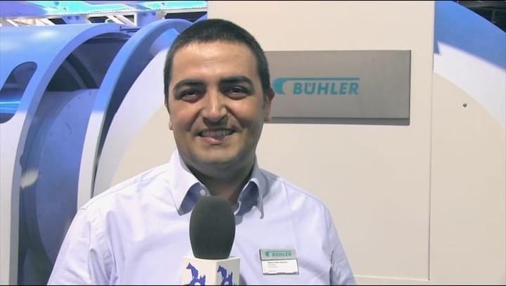 Buhler presenta Curso de extrusi�n en Chile. Alberto Nu�ez (Gerente de ventas Feed & Biomass)