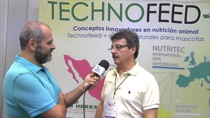 TechnoFeed M�xico y Nutritec en el 5� Foro M�xico sobre alimento para mascota. Jorge Casta�eda