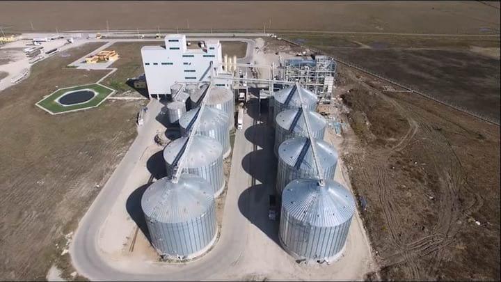 Tres Plantas para Alimentos de Cerdos, Video con Drone