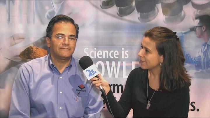 Diamond V: Fernando de la Colina presenta nuevos productos para Latinoamerica