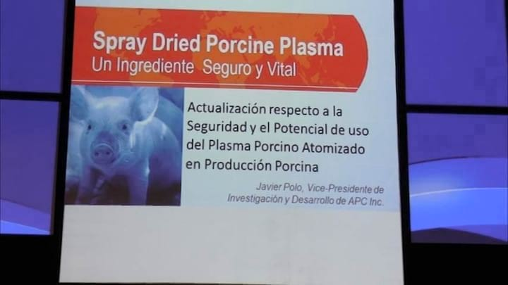 Inocuidad de hemoderivados de origen animal: Javier Polo (APC)