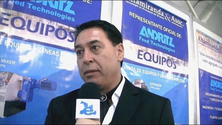 Peletizadores y Extrusores para alimento balanceado: Roberto Altamiranda (ANDRITZ)