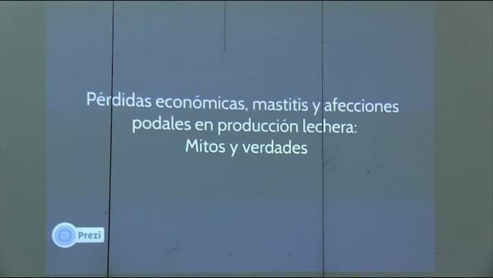 Perdidas econ�micas, mastitis y afecciones podales en producci�n Lechera. Mario Lopez Benavidez