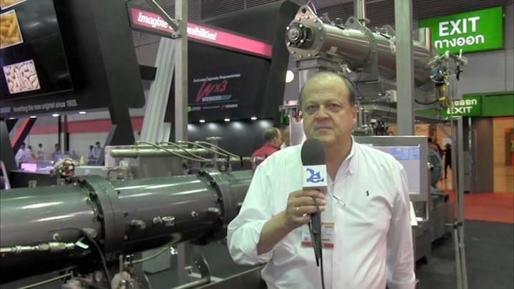 Fabricaci�n de piensos, Nuevas tecnolog�as. Giuseppe Bigliani en Victam 2016