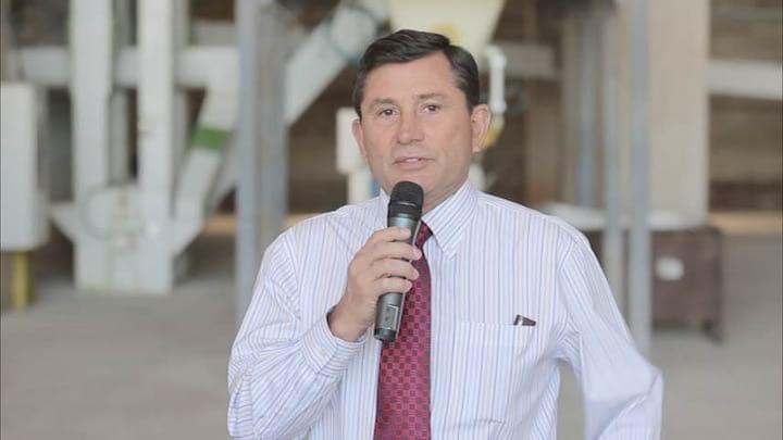 Zheng Chang - Inagura en Paraguay una nueva Planta de Balanceados - Drone