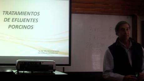 Manejo de efluentes porcinos con bacterias: Daniel Herbalejo