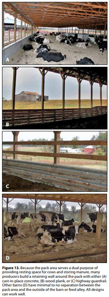 Compost Bedded Pack Barn Design Features And Management Considerations Engormix