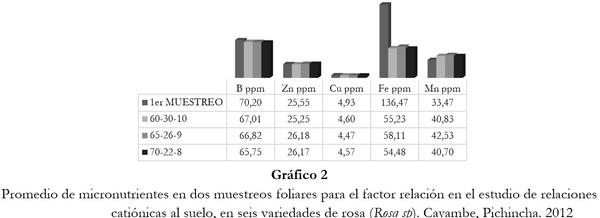 Respuesta de seis cultivares de rosa (Rosa sp.) a tres relaciones catiónicas del suelo. Cayambe, Pichincha - Image 5