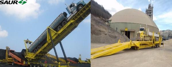Recibo y descarga de graneles sólidos con plataformas volcadoras o equipos especializado - Image 4