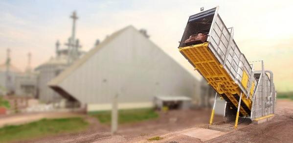 Recibo y descarga de graneles sólidos con plataformas volcadoras o equipos especializado - Image 3