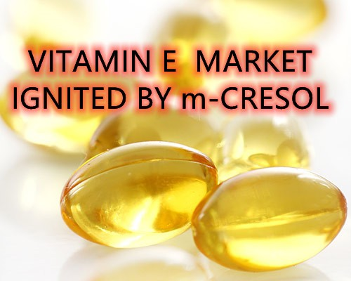 Vitamin E Market Ignited by m-CRESOL - Image 1