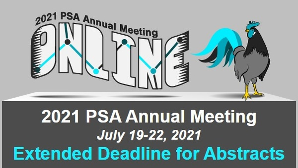 Extended deadline for 2021 PSA Annual Meeting abstracts - Image 1