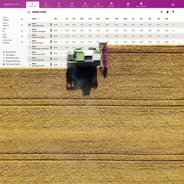 Evonik launches AMINODat® 6.0 feed raw material database with new features - Image 1