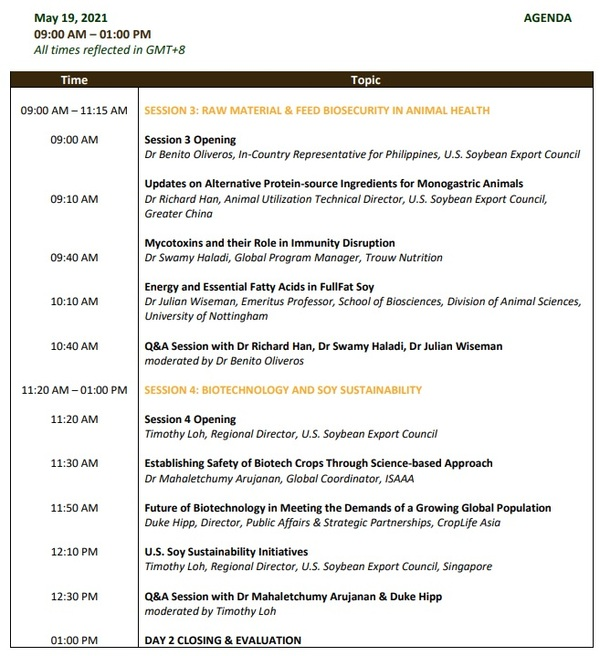 Feed Technology & Animal Nutrition Conference 2021 on May 18-19 - Image 3
