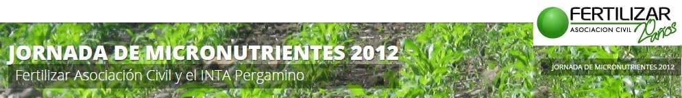 Argentina - Jornada Técnica Micronutrientes 2012