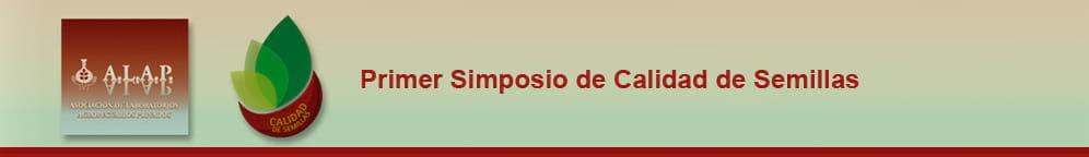 Primer Simposio de Calidad de Semillas de ALAP 2013