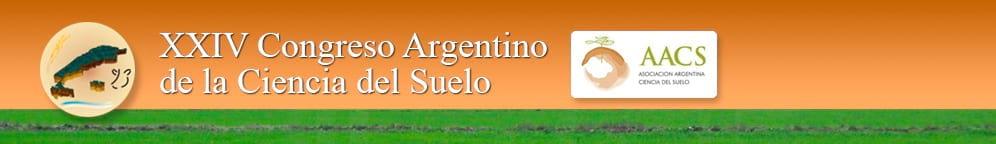 XXIV Congreso Argentino de la Ciencia del Suelo