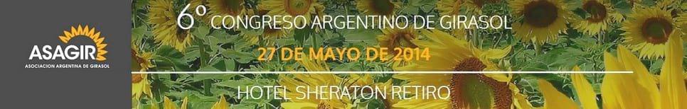 VI Congreso Argentino de Girasol