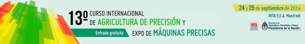 XIII Curso Internacional de Agricultura de Precisión y Expo de Máquinas Precisas
