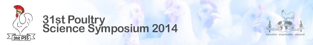 31st Poultry Science Symposium 2014