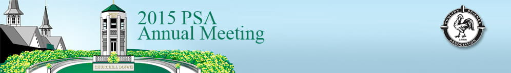 2015 Poultry Science Association Annual Meeting
