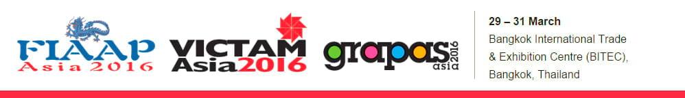 FIAAP/VICTAM/GRAPAS Asia 2016