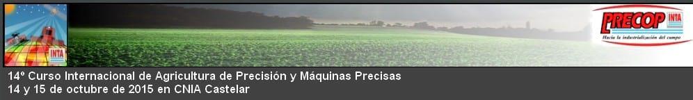 XIV Curso Internacional de Agricultura de Precisión y Expo de Máquinas Precisas