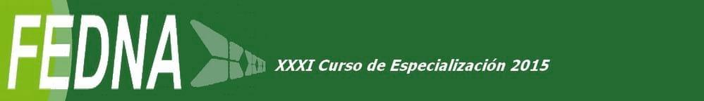 XXXI Curso de Especialización FEDNA 2015