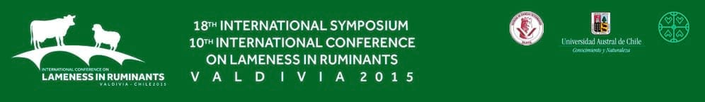 18th International Symposium and 10th International Conference on Lameness in Ruminants