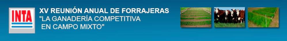 Argentina - XV Reunión anual de forrajeras 2015