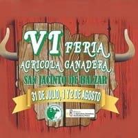 VI Feria Ganadera San Jacinto de Balzar