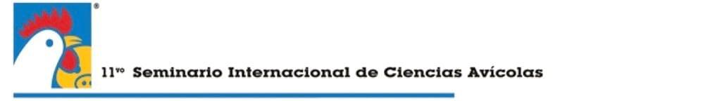11º Seminario Internacional de Ciencias Avícolas