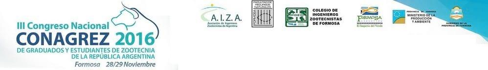 CONAGREZ Tercer Congreso Nacional de Graduados y Estudiantes de Zootecnia de la República Argentina