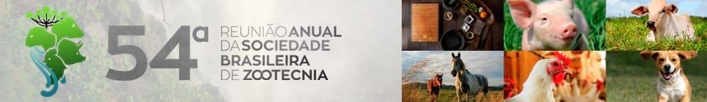 54ª. Reunião da Sociedade Brasileira de Zootecnia (SBZ)