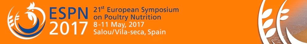 21st European Symposium on Poultry Nutrition - ESPN 2017