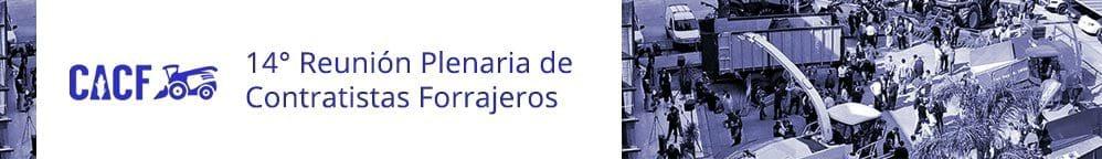 14° Reunión Plenaria de Contratistas Forrajeros