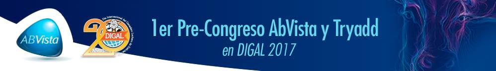 1er pre-congreso AbVista y Tryadd en DIGAL 2017