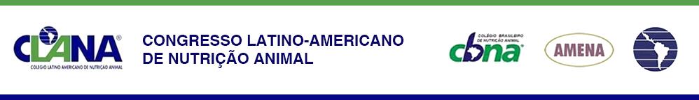 VIII CLANA - Congresso Latino-americano de Nutrição Animal