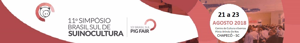 Simpósio Brasil Sul de Suinocultura 2018