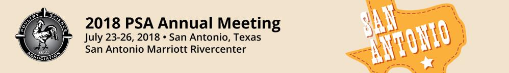 2018 PSA Annual Meeting