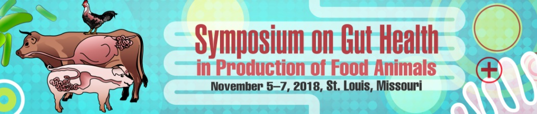 Symposium on Gut Health in Production of Food Animals 2018