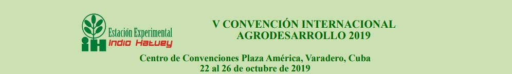 V Convención Internacional Agrodesarrollo 2019