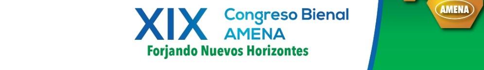 XIX Congreso Bienal AMENA 2019