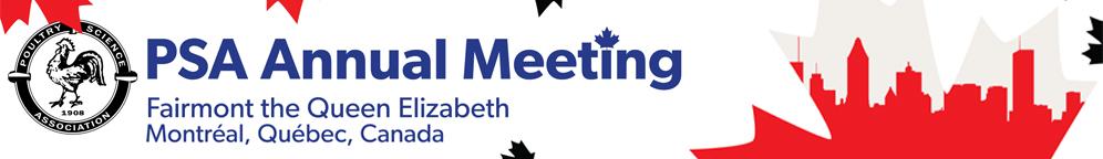 2019 PSA Annual Meeting (Reunión anual de la Asociación de Ciencias Avícolas)