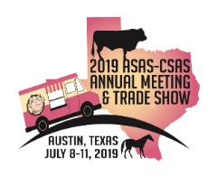 2019 ASAS-CSAS Annual Meeting and Trade Show