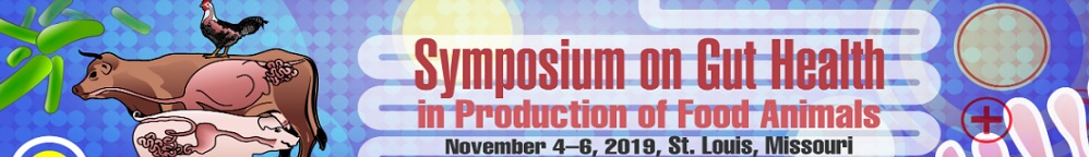 Symposium on Gut Health in Production of Food Animals 2019